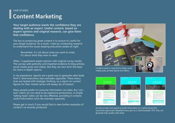 Case Study: Content Marketing