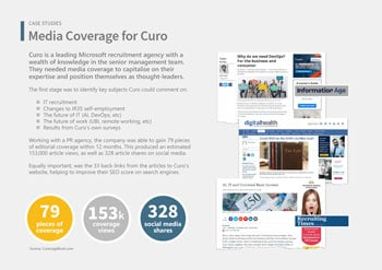 Case Study: Media Coverage