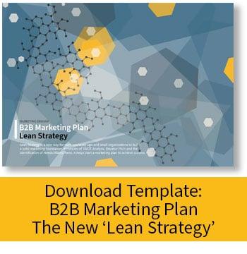 Download: B2B Marketing Plan - Lean Strategy