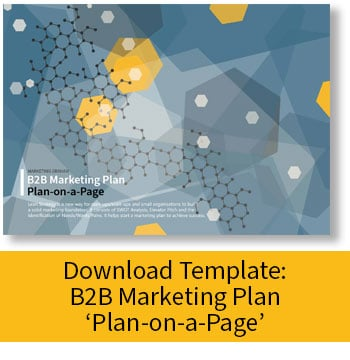 Download: B2B Marketing Plan - Plan-on-a-Page