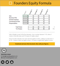 Founders Equity Formula